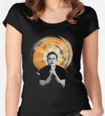 In Elon Musk We Trust Women's Fitted Scoop T-Shirt