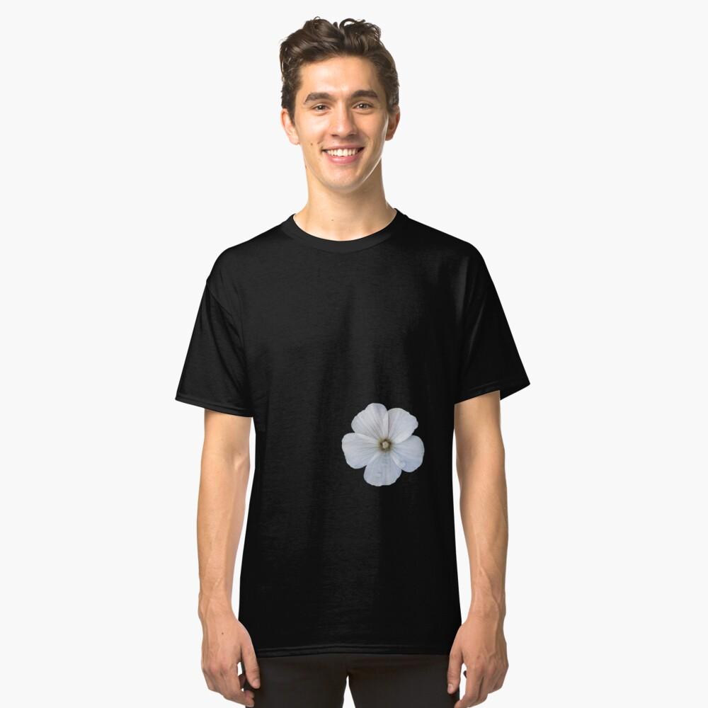 White hibiscus flower Classic T-Shirt