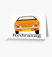 Austin Princess - Hydragas Sandglow Greeting Card