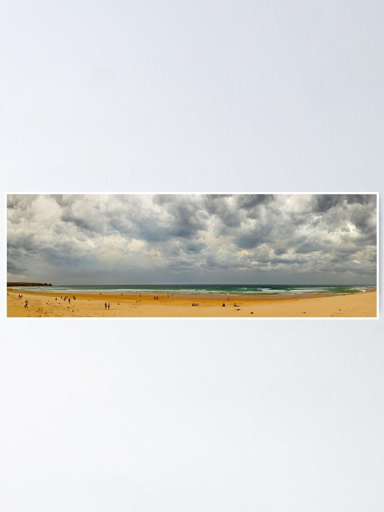 Alternate view of Stormy Cape Woolamai Beach, Phillip Island, Victoria, Australia Poster