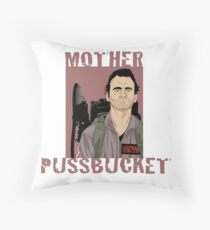 Ghostbusters Venkman 'Mother Pussbucket' Throw Pillow