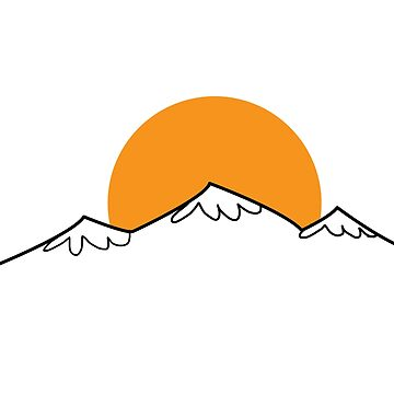 Minimal Mountain by CrosbyDesign