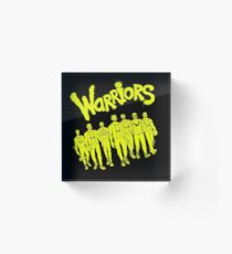 The Warriors - 2017/2018 Acrylic Block
