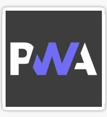 Progressive web app Sticker