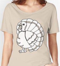 Cute Thanksgiving Turkey Women's Relaxed Fit T-Shirt
