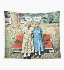 Two Cool Kitties: What's for Lunch? Wall Tapestry