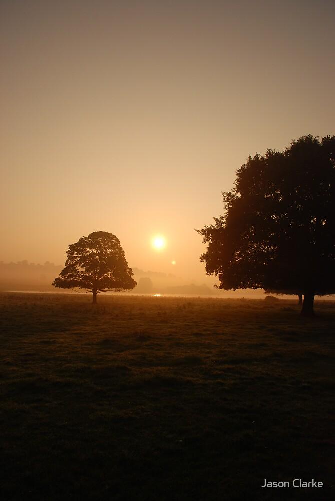 Morning near the lake by Jason Clarke