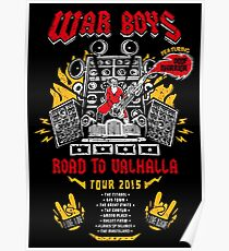Road to Valhalla Tour Poster