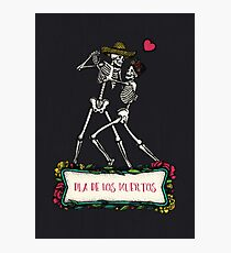 Day of the Dead Dance Photographic Print
