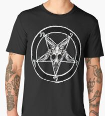 Baphomet Pentagram Men's Premium T-Shirt