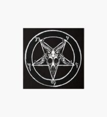 Baphomet Pentagram Art Board