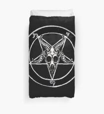 Baphomet Pentagram Duvet Cover