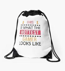 Gaming Gamer Birthday Hottest Looks Like Drawstring Bag