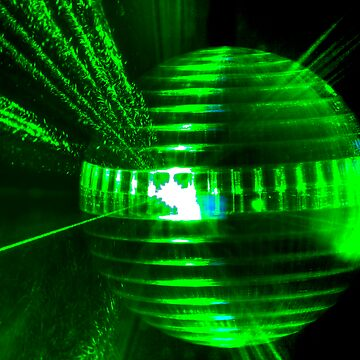 Laser ball by BOBtheDAZZLER