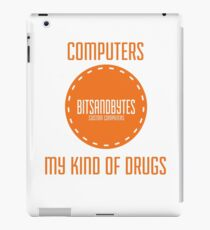 BitsAndBytes, Computers are my drugs iPad Case/Skin