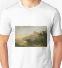 Landscape, Scene from Thanatopsis by Asher Brown Durand T-Shirt