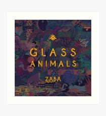 glass animals Art Print