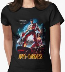 army of darkness Women's Fitted T-Shirt