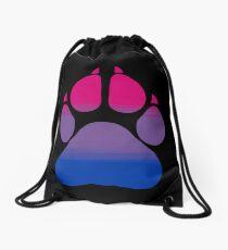 Pawprint - Bi Drawstring Bag