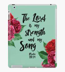 Psalm 118: 14 iPad-Hülle & Klebefolie