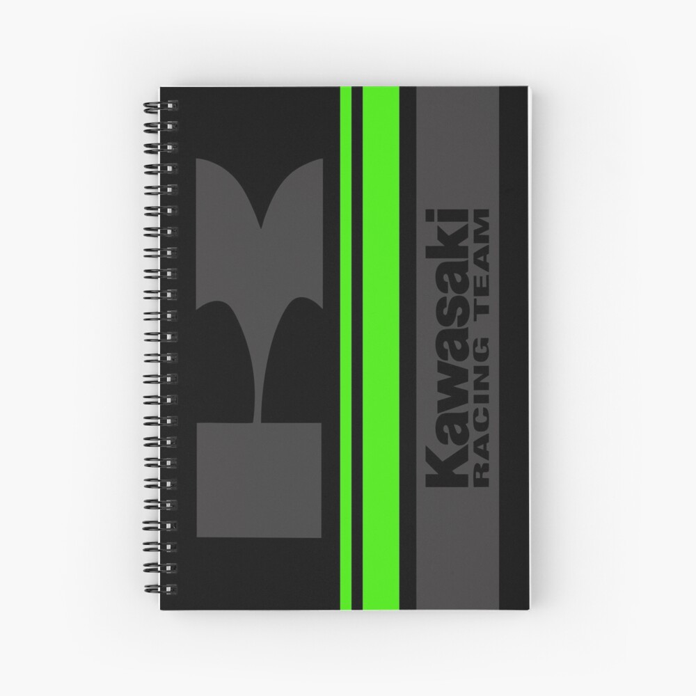 KAWASAKI Team Spiral Notebook