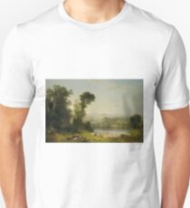 Pastoral Landscape by Asher Brown Durand T-Shirt