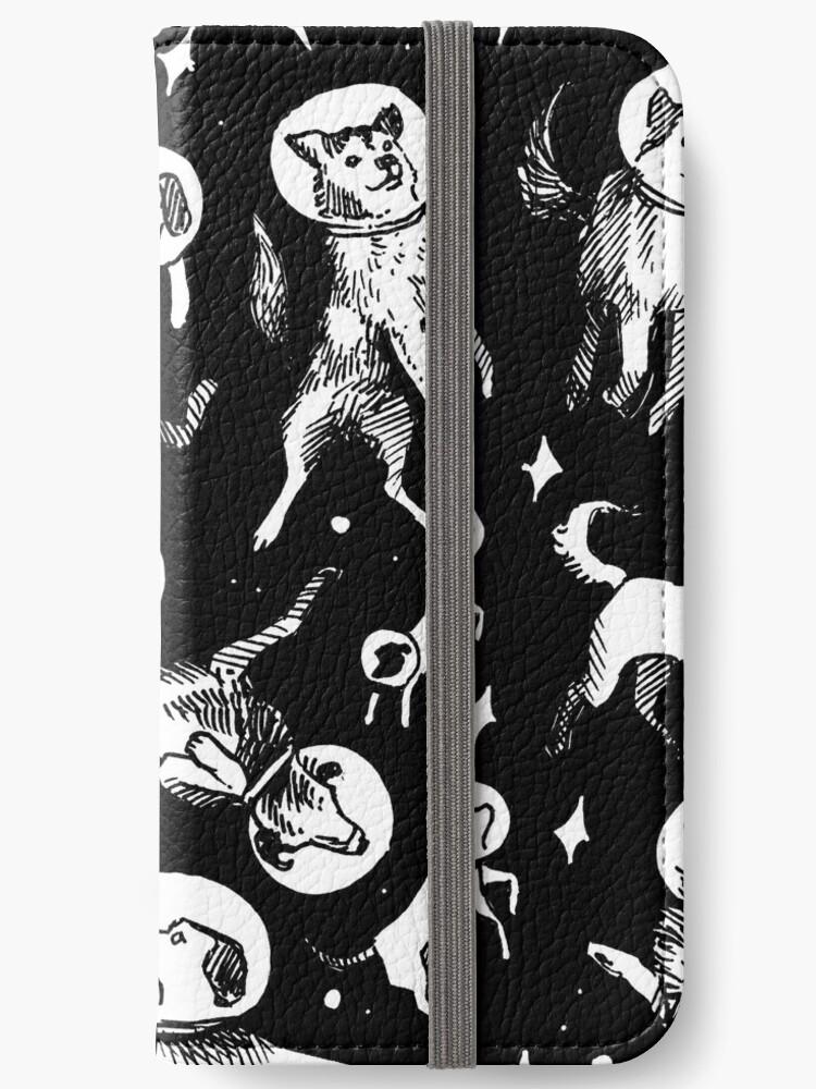 «Space dogs (black background)» de Celeste Ciafarone