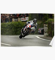 Guy Martin Isle of Man TT Poster