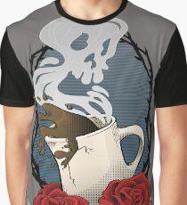 Tod vor Entkoffeinierung Grafik T-Shirt