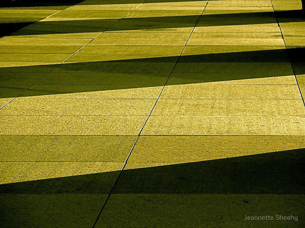 Geometry in Green by Jeannette Sheehy