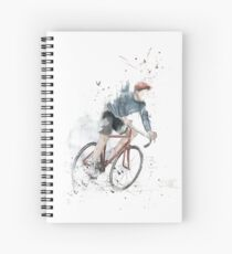 I want to ride my bicycle Spiral Notebook