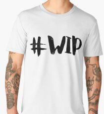 #WIP (black on white) Men's Premium T-Shirt