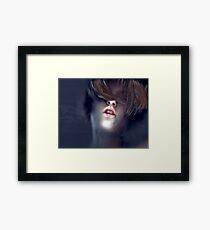 Blind Vanity Framed Print