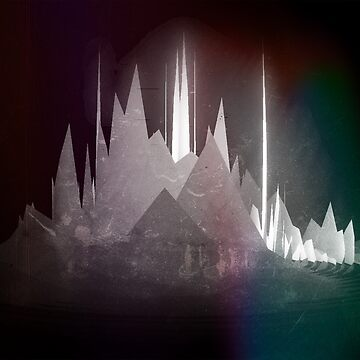 Wave Mountain #1 [Music Art] by StabbedPanda