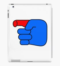 Hand without the gun iPad Case/Skin