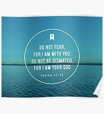 Jesaja 41:10 Poster