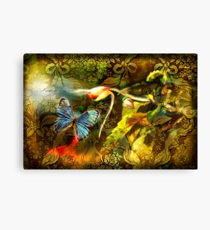 All Things New Canvas Print