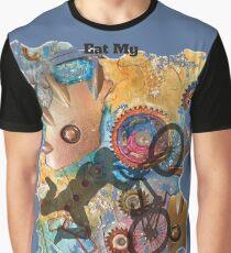EAT MY DUST - DIRT BIKING Graphic T-Shirt