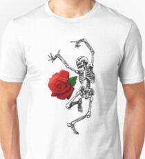 ROSE SKELETT Slim Fit T-Shirt