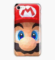 Low Polygon Mario iPhone Case/Skin
