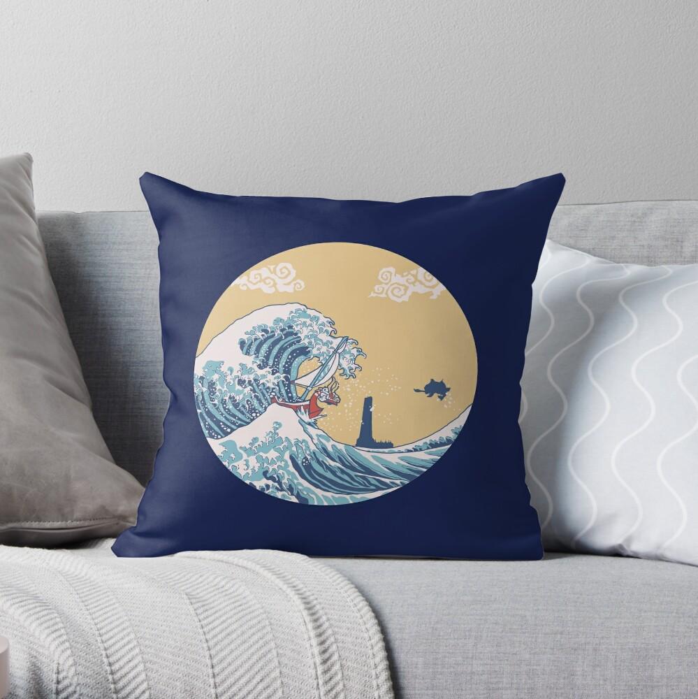 Das große Meer Dekokissen