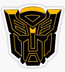 Black and Gold Prime  Sticker