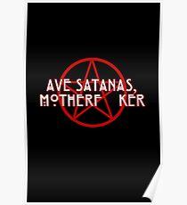 American Horror Story: Cult - Ave Satanas, Motherf--ker! [CLEAN] Poster