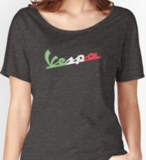 VESPA ITALIAN FLAG Women's Relaxed Fit T-Shirt
