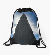 Iceland, Hallgrimskirkja Drawstring Bag