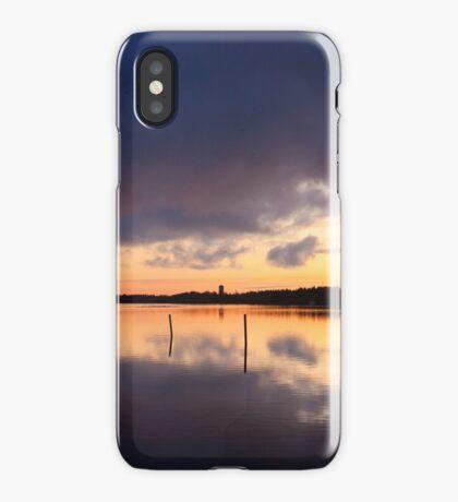 Oulu sunset iPhone Case
