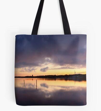 Oulu sunset Tote Bag