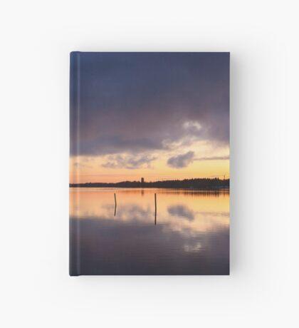 Oulu sunset Hardcover Journal