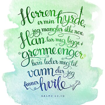 Herren er min hyrde by GudsOrd