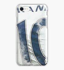 Jersey #10 iPhone Case/Skin